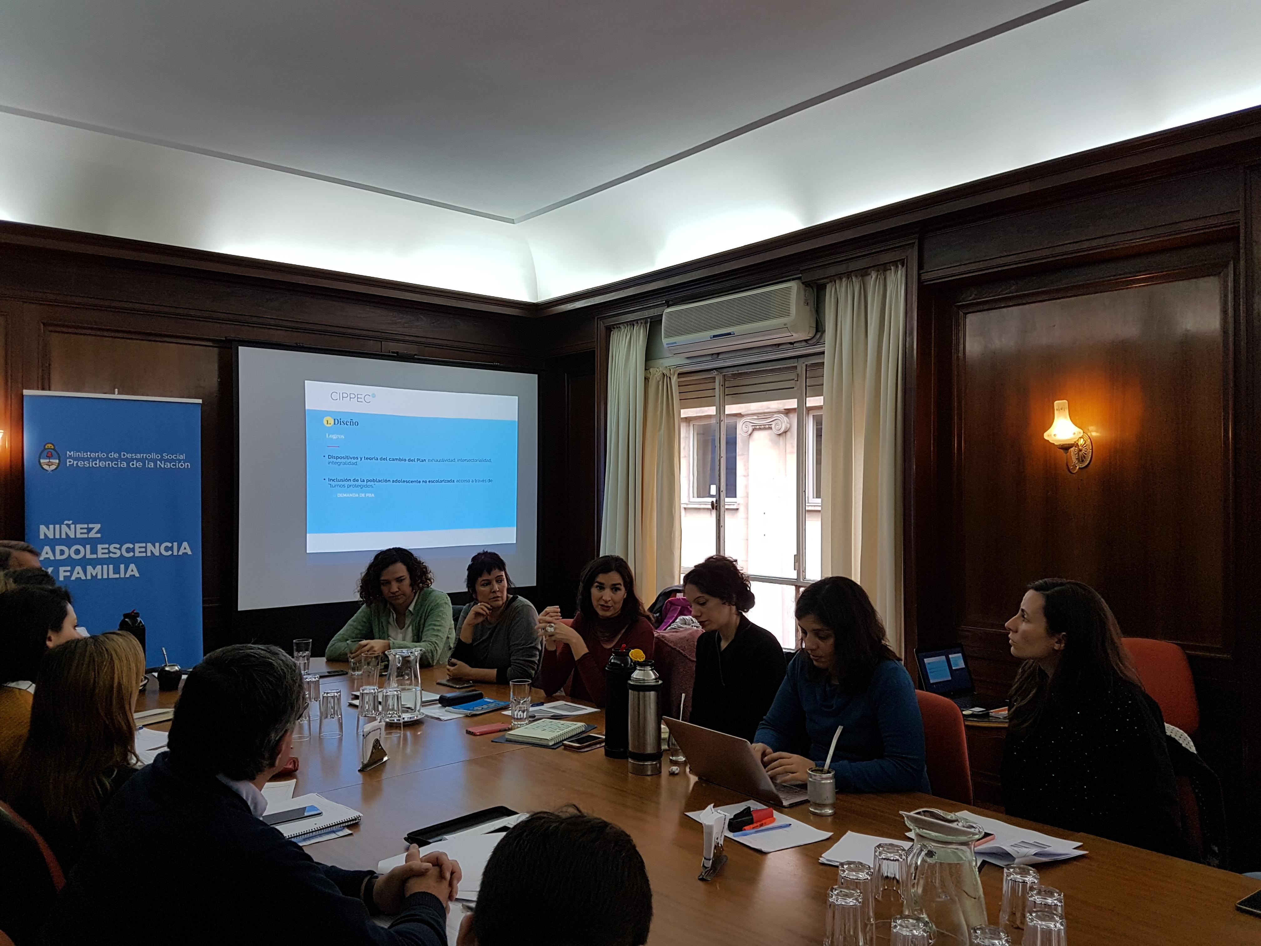 CIPPEC en la presentación del Plan Nacional de Prevención del Embarazo No Intencional en la Adolescencia.
