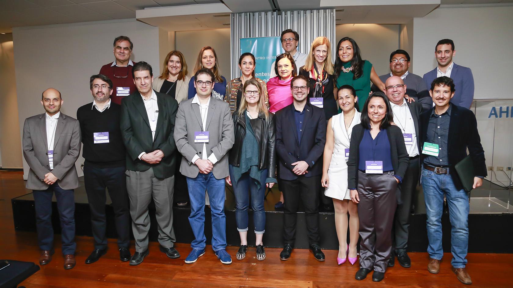 Imágenes de las actividades llevadas a cabo por EduLab (CIPPEC) y Fundación Ceibal, sobre educación digital en América Latina