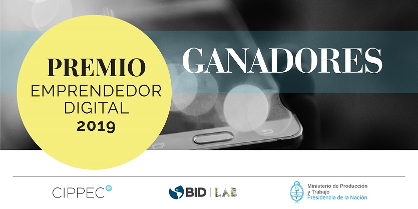 "Flyer ""Premio Emprendedor digital 2019"""
